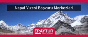 Nepal vizesi başvuru merkezleri