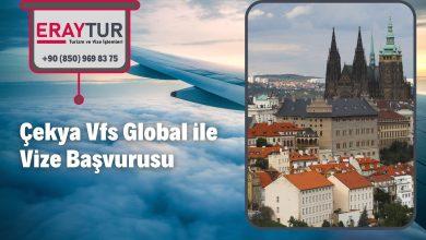 Çekya Vfs Global ile Vize Başvurusu