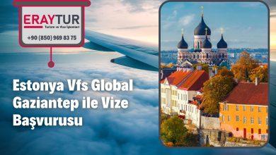 Estonya Vfs Global Gaziantep ile Vize Başvurusu