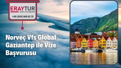 Norveç Vfs Global Gaziantep ile Vize Başvurusu