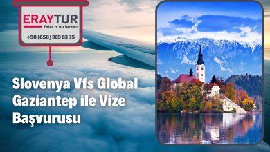 Slovenya Vfs Global Gaziantep ile Vize Başvurusu