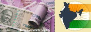 Hindistan vize ücreti