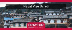 Nepal vize ücreti