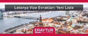 Letonya vize evrakları
