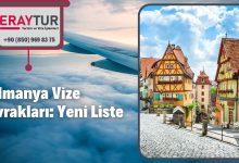 Almanya Vize Evrakları: Yeni Liste [2021]