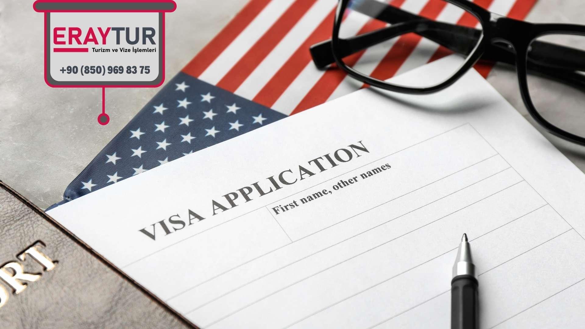 Amerika Vize Formu DS-160 Yer Alan Bilgi Alanları