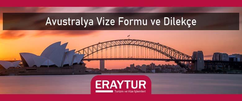 Avustralya Vize Formu ve Dilekçe 1 – avustralya vize formu ve dilekce
