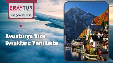 Avusturya Vize Evrakları: Yeni Liste [2021] 2 – avusturya vize evraklari yeni liste 2021 1