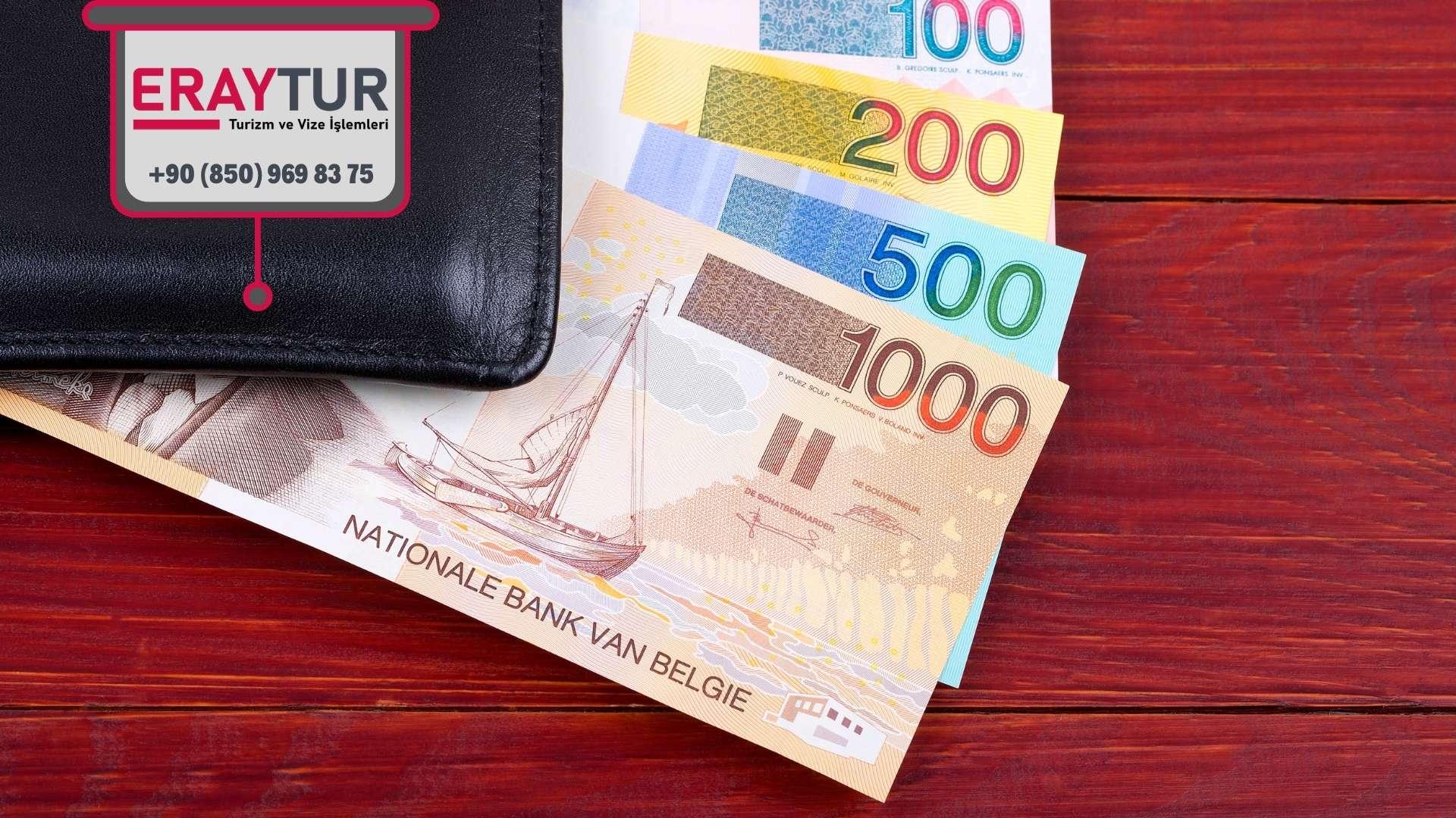 Belçika Turistik Vize Ücretleri