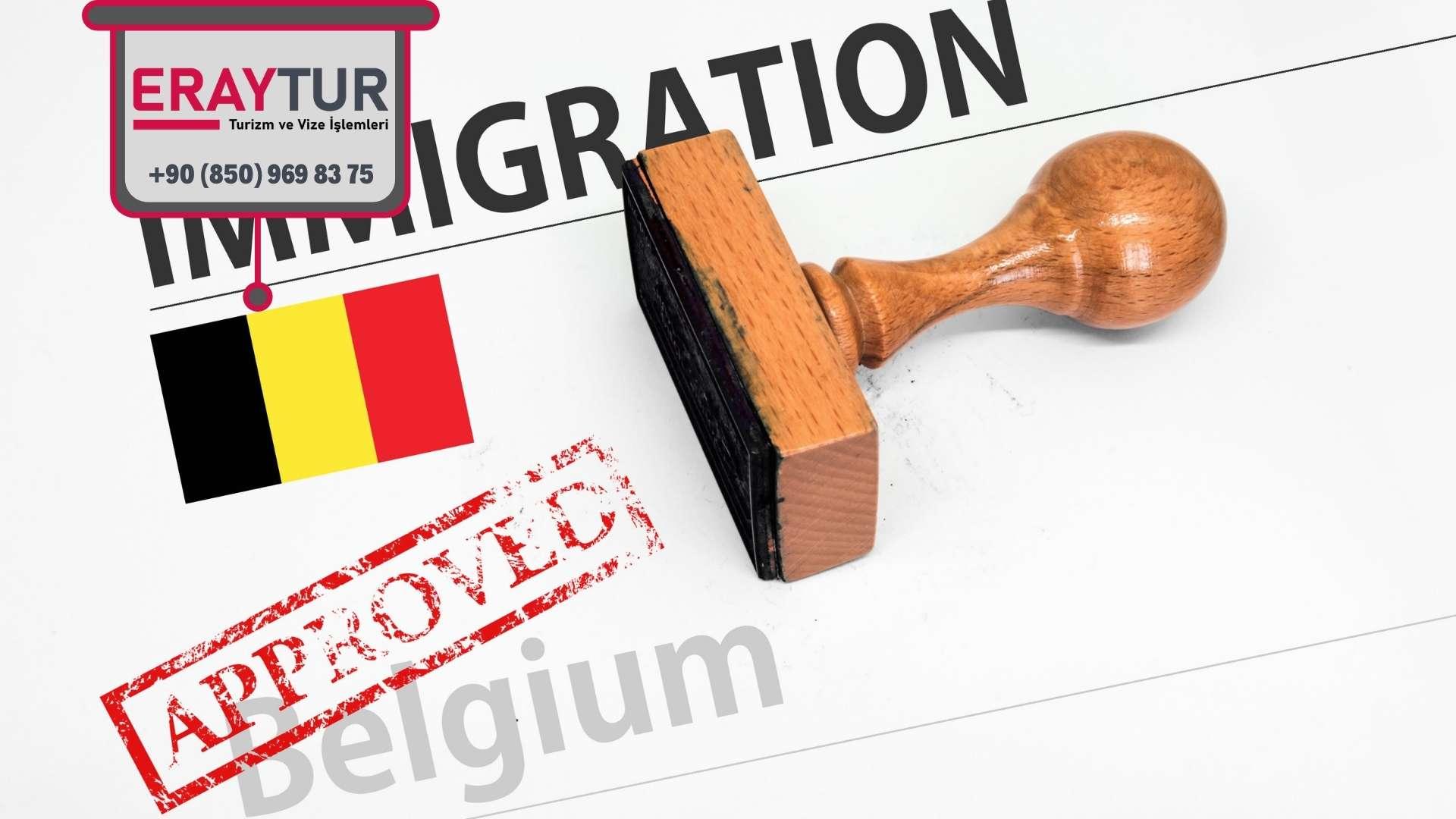 Belçika Vize Formu Bilgi Alanları