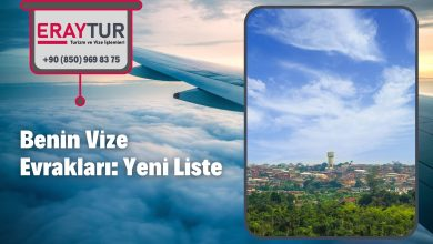 Benin Vize Evrakları: Yeni Liste [2021]