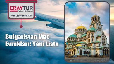Bulgaristan Vize Evrakları: Yeni Liste [2021]