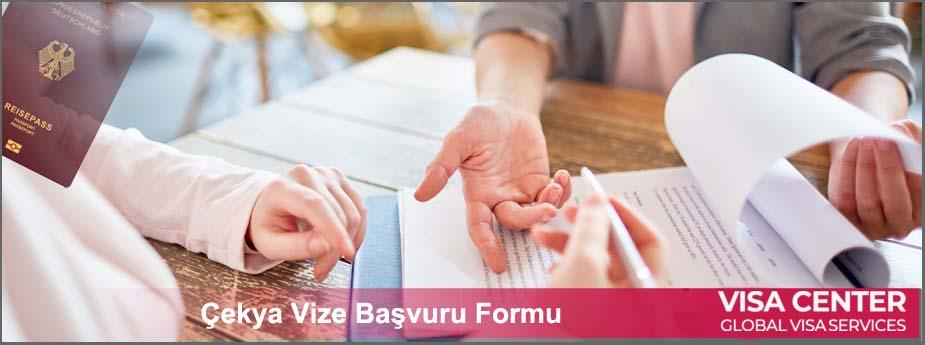 Çekya Vize Formu ve Dilekçe 1 – cek vize formu