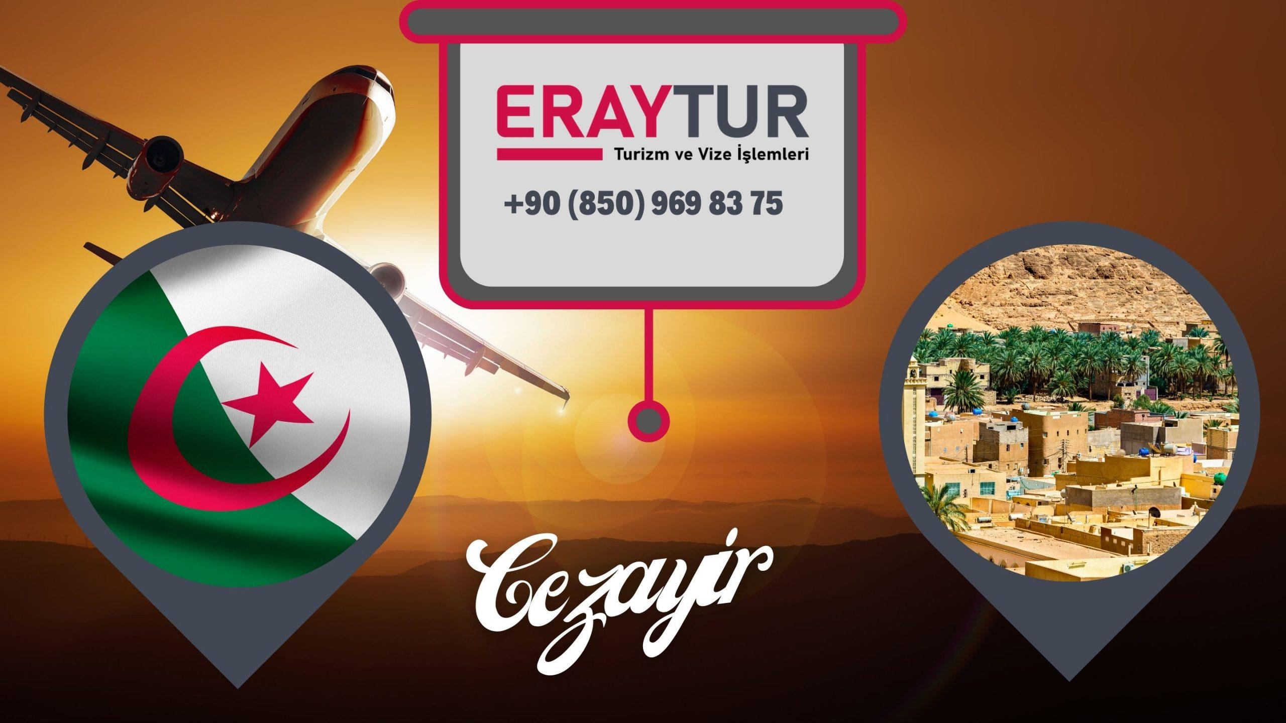 Cezayir Vize Formu ve Dilekçe