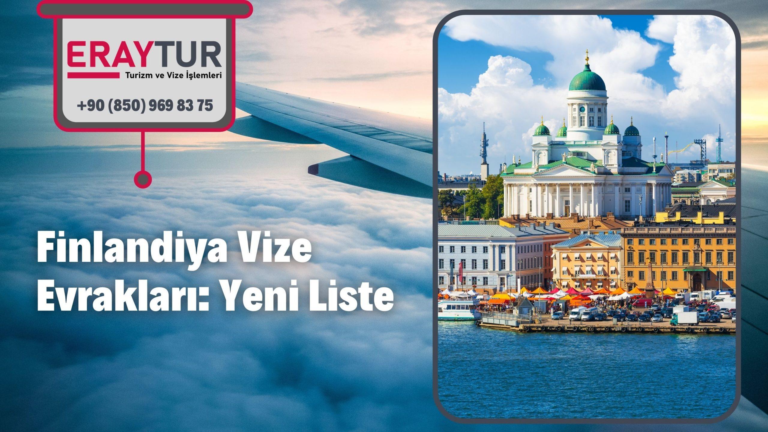 Finlandiya Vize Evrakları: Yeni Liste [2021]
