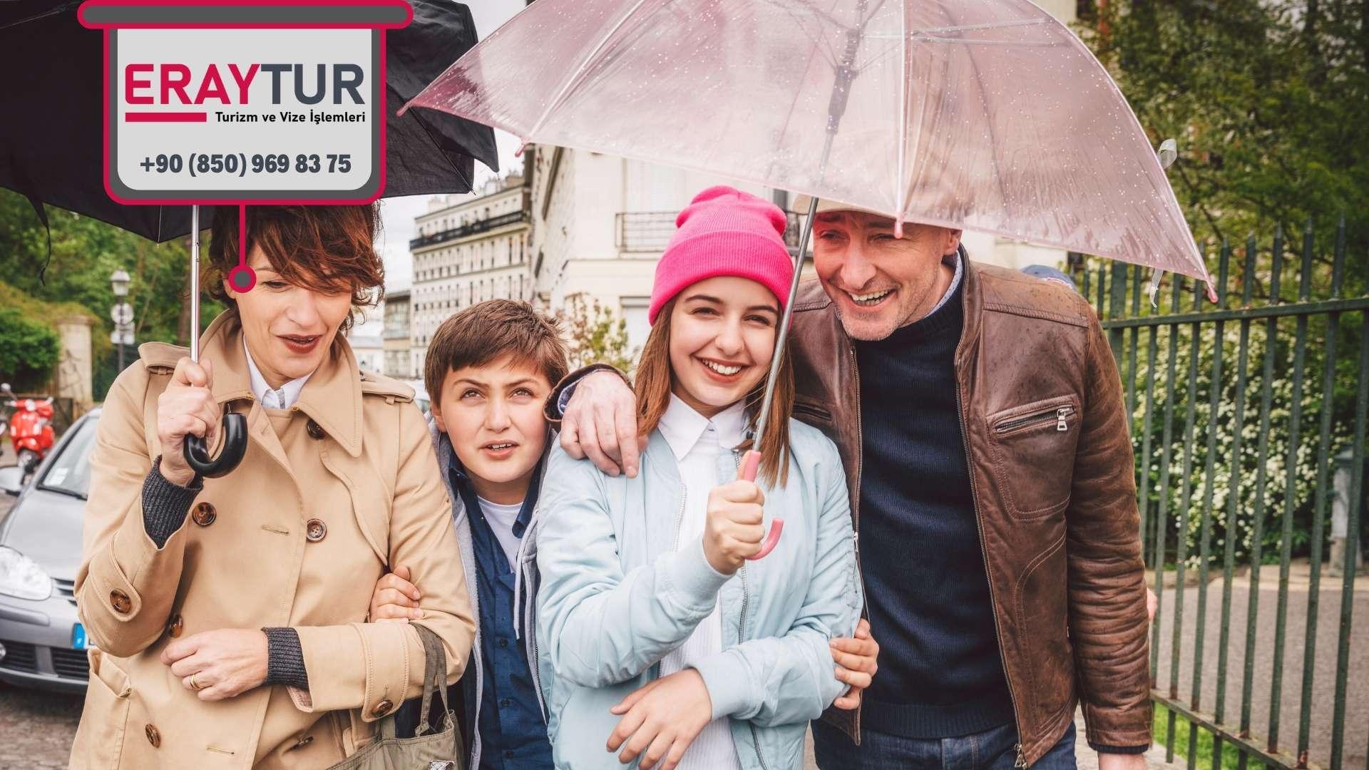 Fransa Aile Birleşimi Vize İçin Gerekli Evraklar