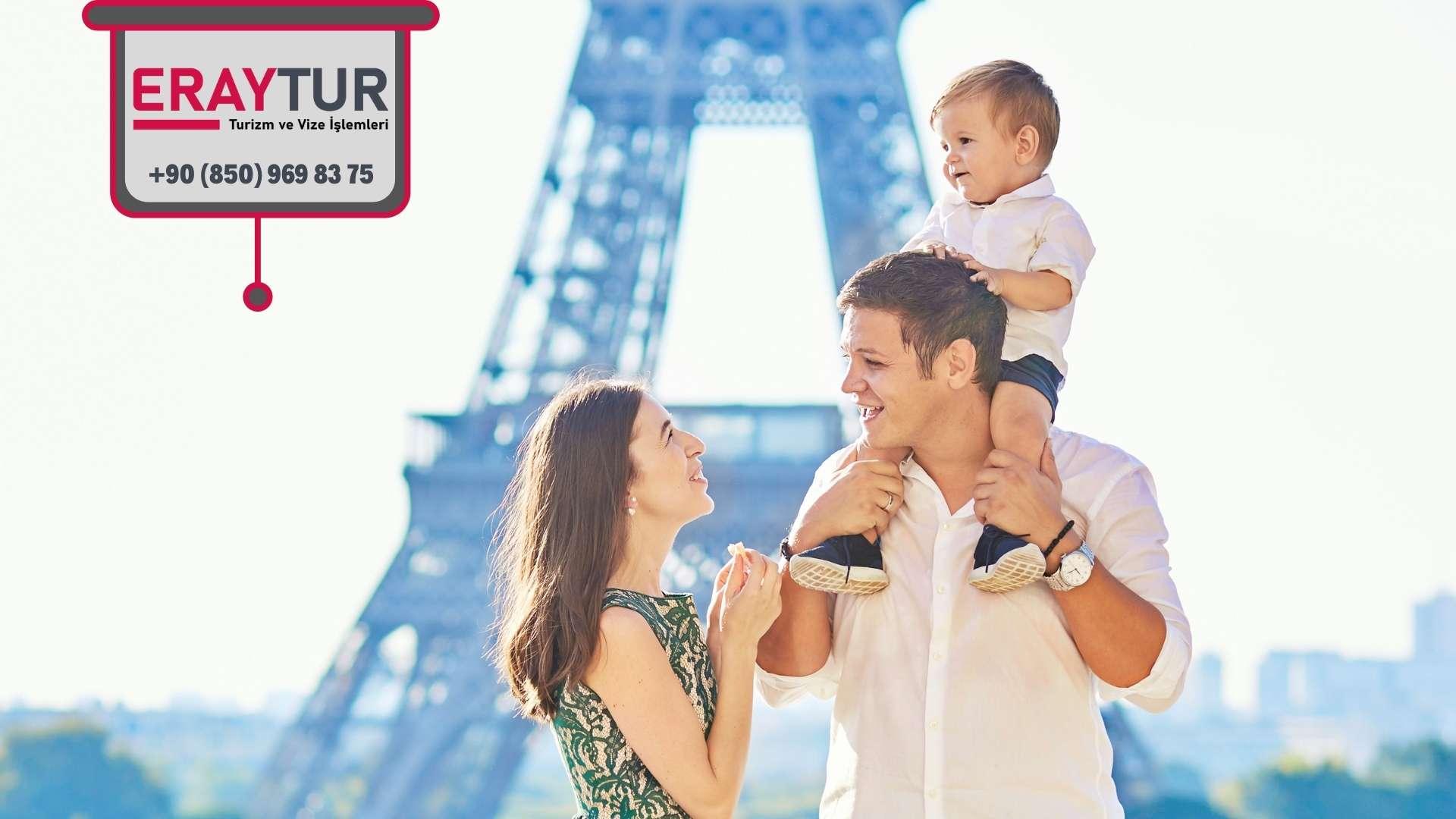 Fransa Aile Ziyareti Vize İçin Gerekli Evraklar