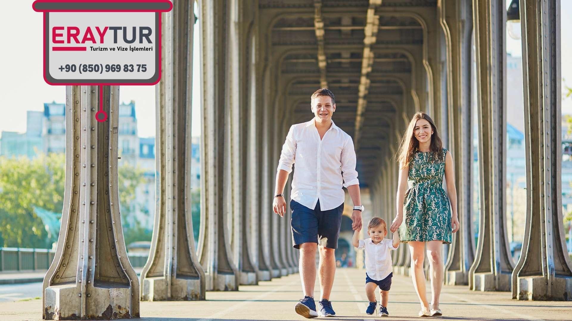 Fransa Aile Ziyareti Vize Ücreti