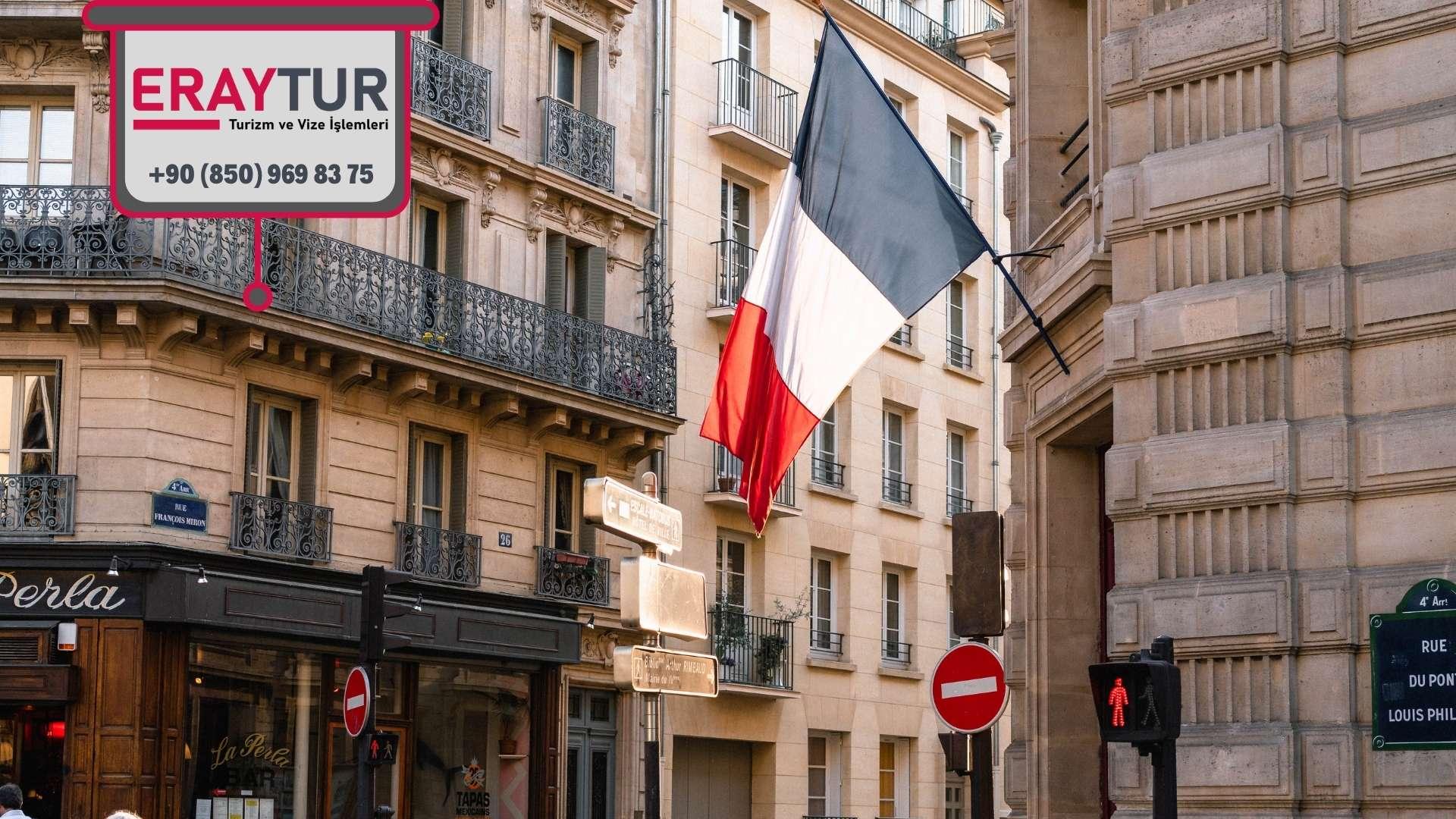 Fransa Kısa Süreli Vizelerde Ortak Belgeler
