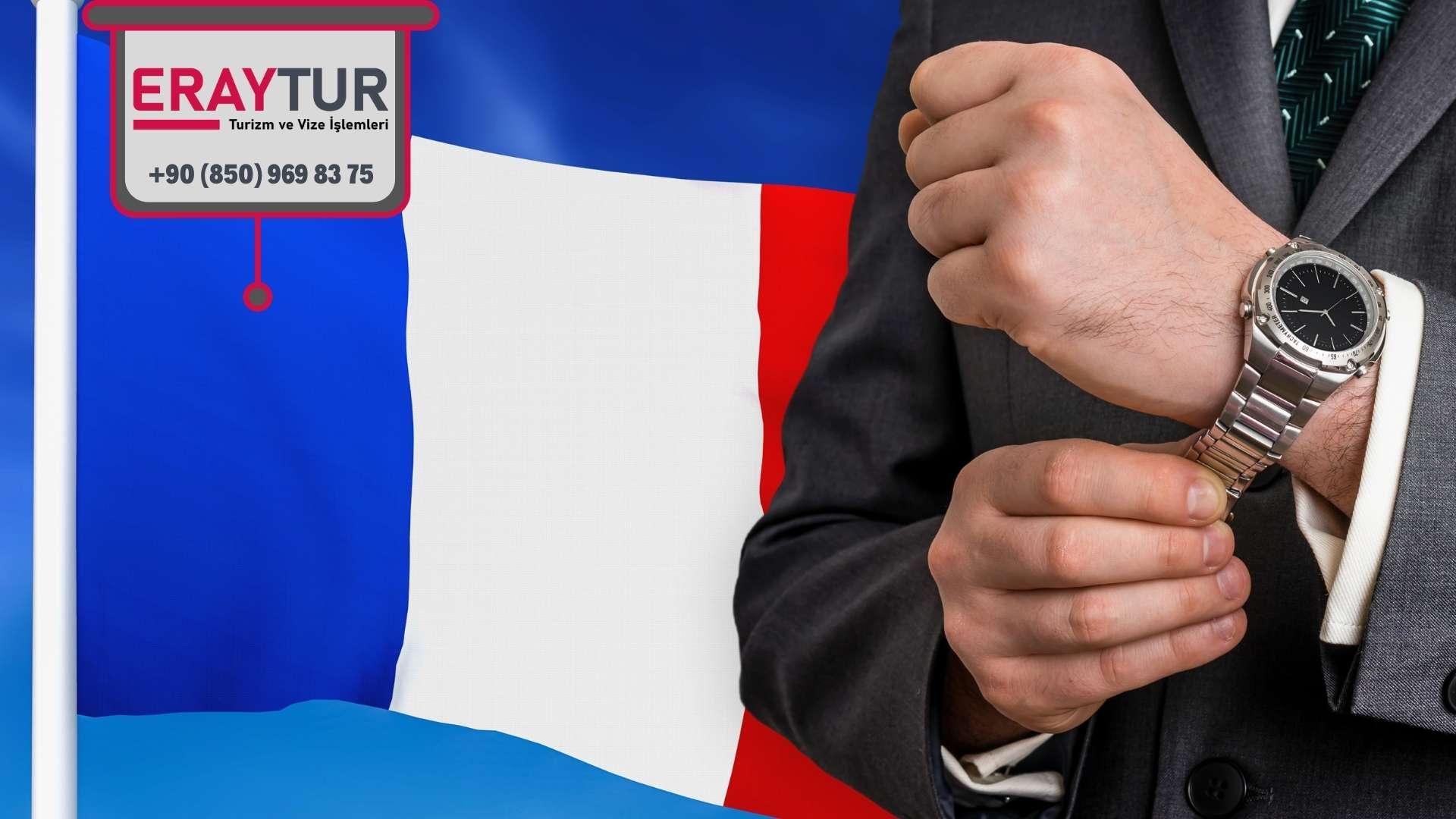 Fransa Ticari Vize Ücreti