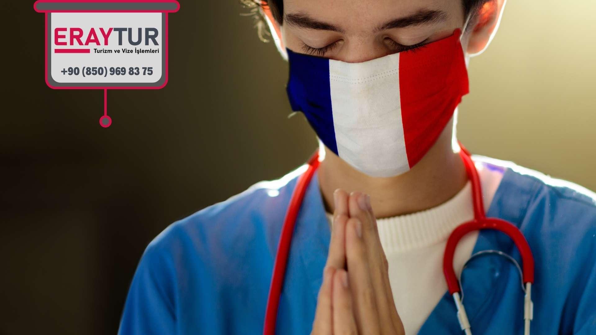 Fransa Turistik Vize Avukat/Eczacı/Doktor/Mühendis Evrakları