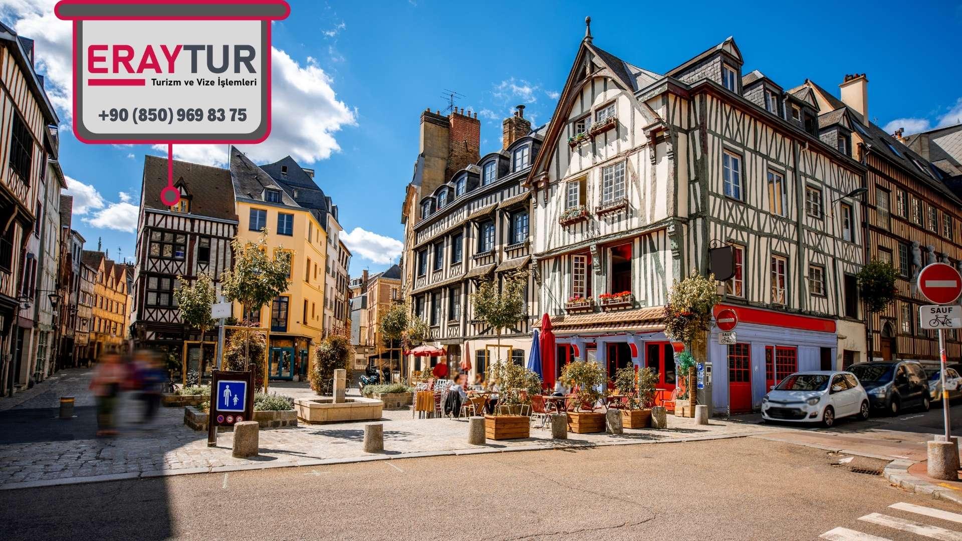 Fransa Turistik Vize Kamu Çalışanı Evrakları