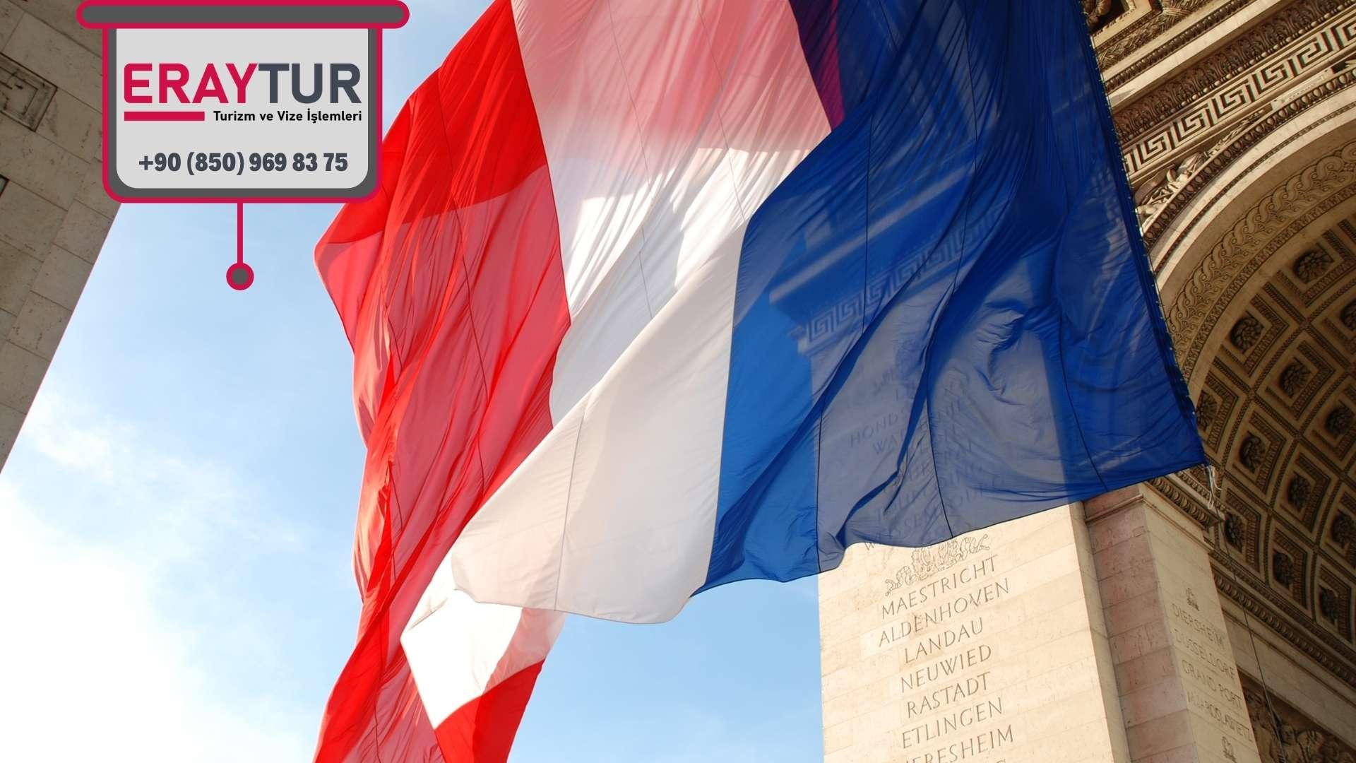 Fransa Vize Formu Soru Alanları