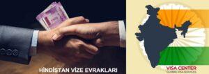 Hindistan vize evrakları