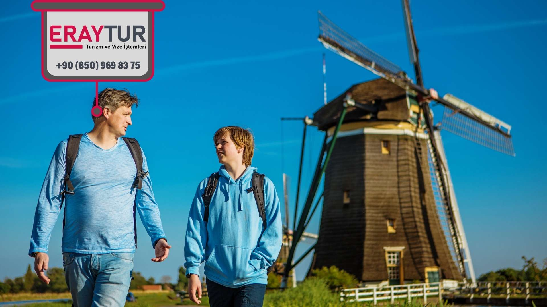 Hollanda Aile Birleşimi Vize