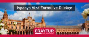 İspanya vize formu ve dilekçe