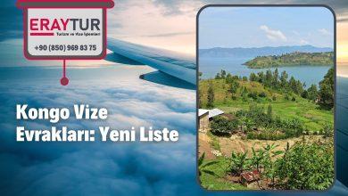 Kongo Vize Evrakları: Yeni Liste [2021]
