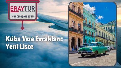Küba Vize Evrakları: Yeni Liste [2021]
