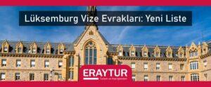 Lüksemburg vize evrakları