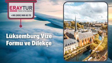 Lüksemburg Vize Formu ve Dilekçe 1 – luksemburg vize formu ve dilekce 1