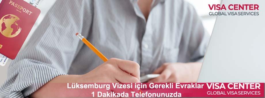 Lüksemburg Vize Evrakları: Yeni Liste [2021] 1 – luksemburg vizesi gerekli evraklar