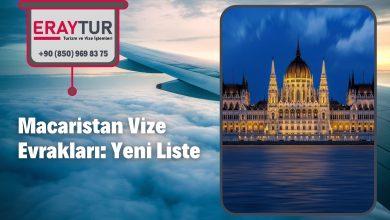 Macaristan Vize Evrakları: Yeni Liste [2021]