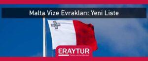 Malta vize evrakları