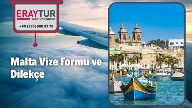 Malta Vize Formu ve Dilekçe