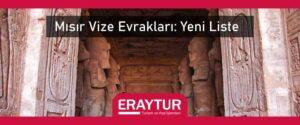 Mısır vize evrakları