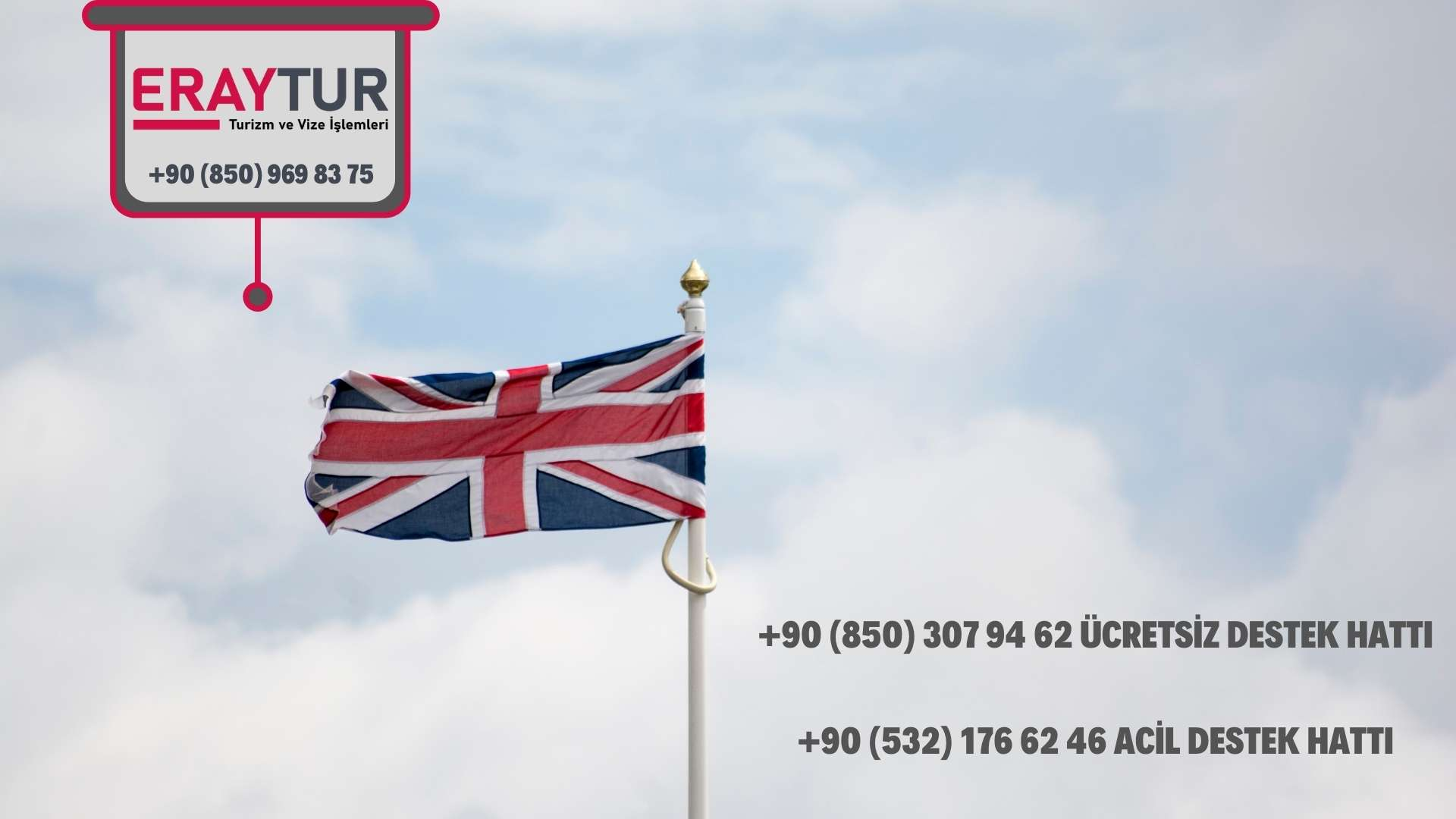 İngiltere Vize Başvuru Merkezleri İletişim