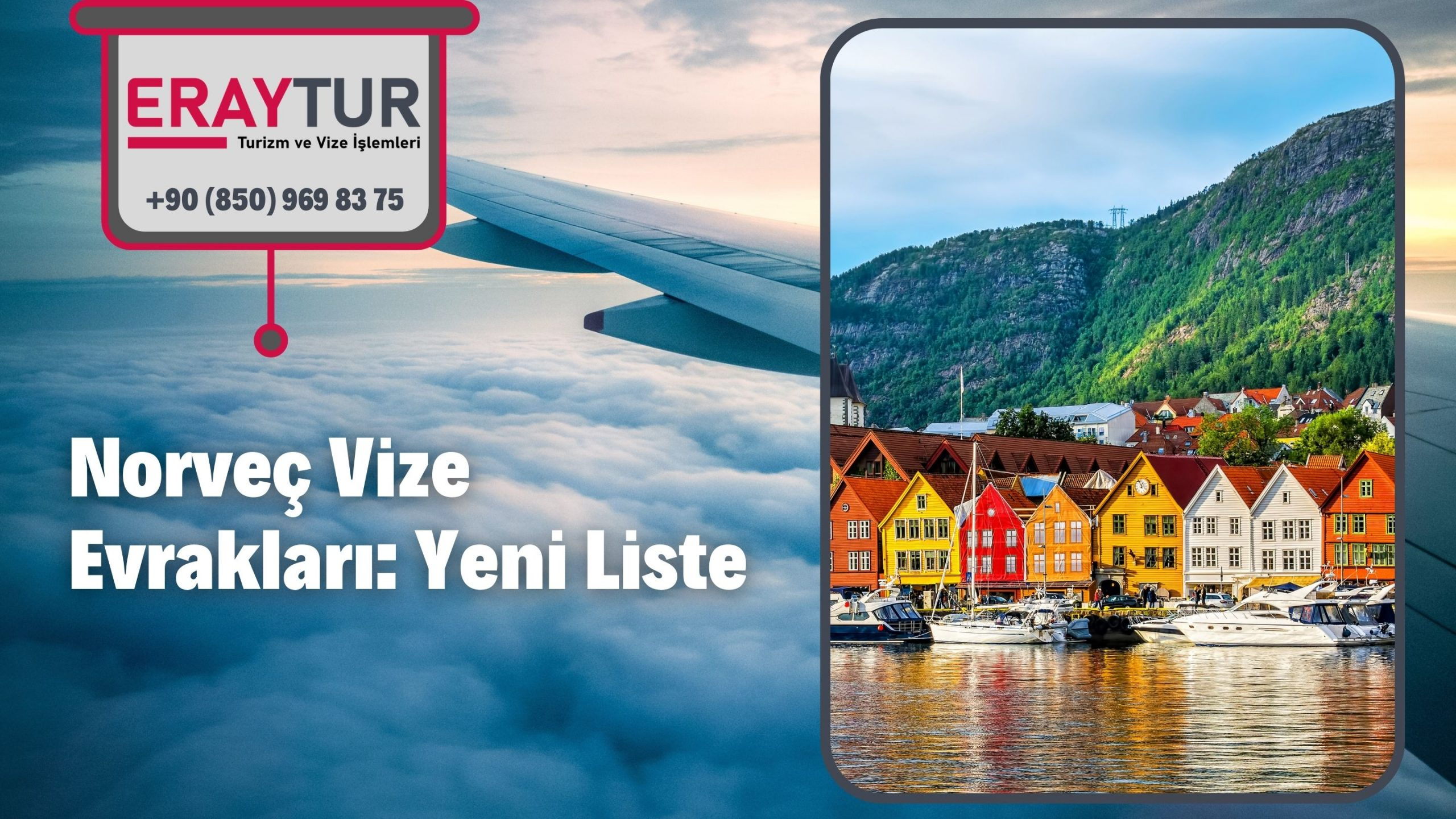 Norveç Vize Evrakları: Yeni Liste [2021]