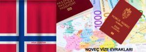 Norveç vize formu