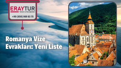 Romanya Vize Evrakları: Yeni Liste [2021]