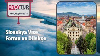 Slovakya Vize Formu ve Dilekçe