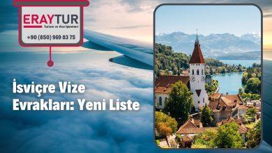 İsviçre Vize Evrakları: Yeni Liste [2021]