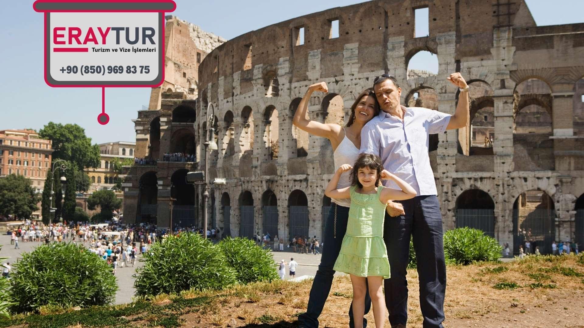 İtalya Aile Birleşimi Vize İçin Gerekli Evraklar