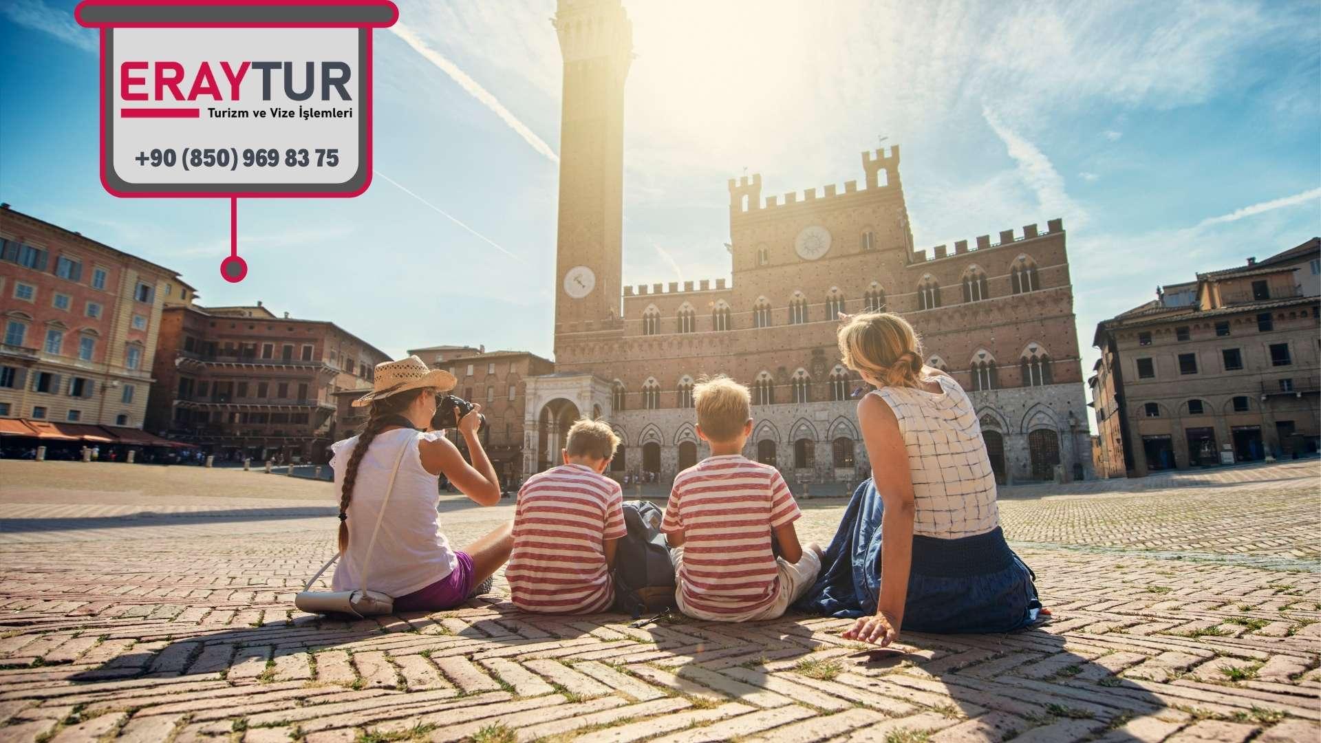 İtalya Aile Ziyareti Vize Ücreti