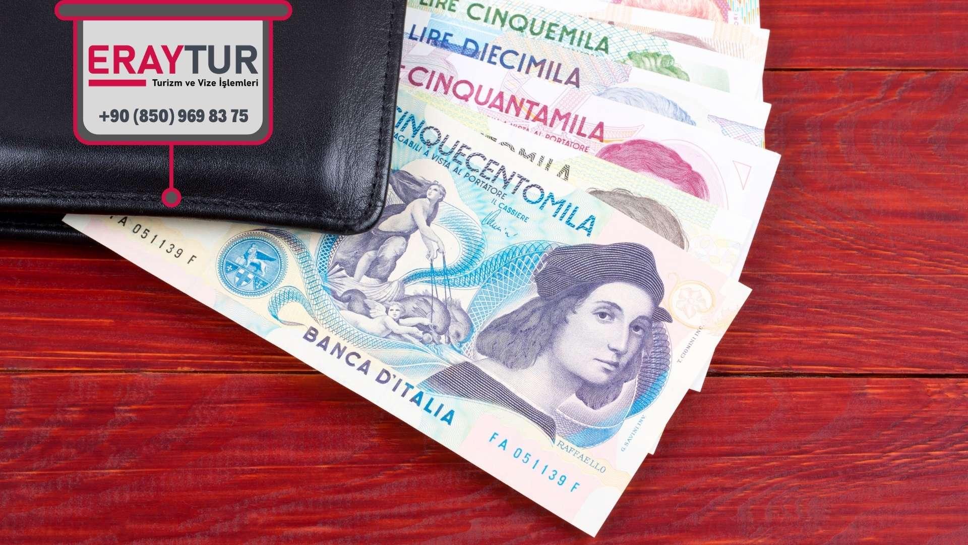 İtalya Turistik Vize Ücreti
