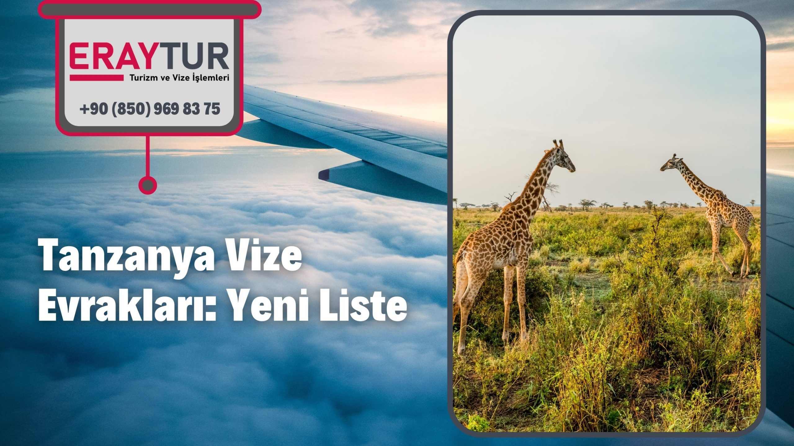 Tanzanya Vize Evrakları: Yeni Liste [2021]