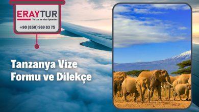 Tanzanya Vize Formu ve Dilekçe